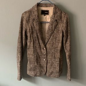Hurley casual wool blazer size small